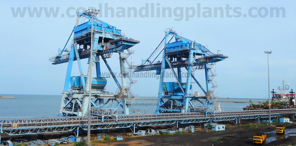 Gantry Crane   Grab Type Ship Unloader - Coal Handling Plant